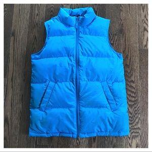 {Lands' End} Puffer Vest, M (10-12)